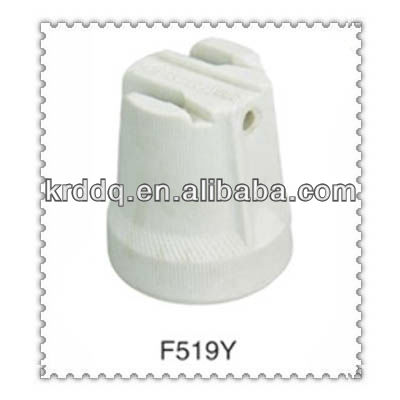 screw type porcelain F519 lampholder