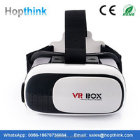 Free Shipping New products for mobile phone portable 2nd generation 3D VR BOX Virtual Reality 3D Glasses