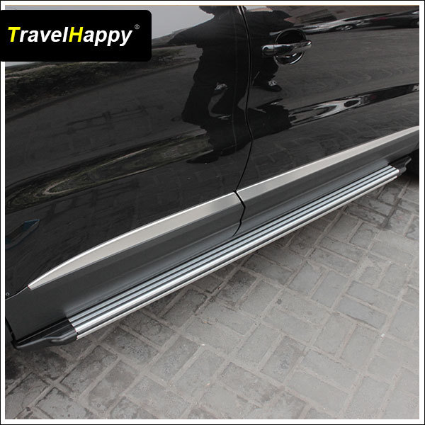 High Quality Stainless side step running board for Audi Q7
