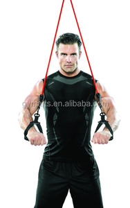 fitness resistance band / latex tube / latex band with foam handle