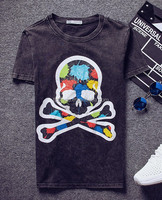 Own brands fashion cotton high quality t shirt manufacturing process