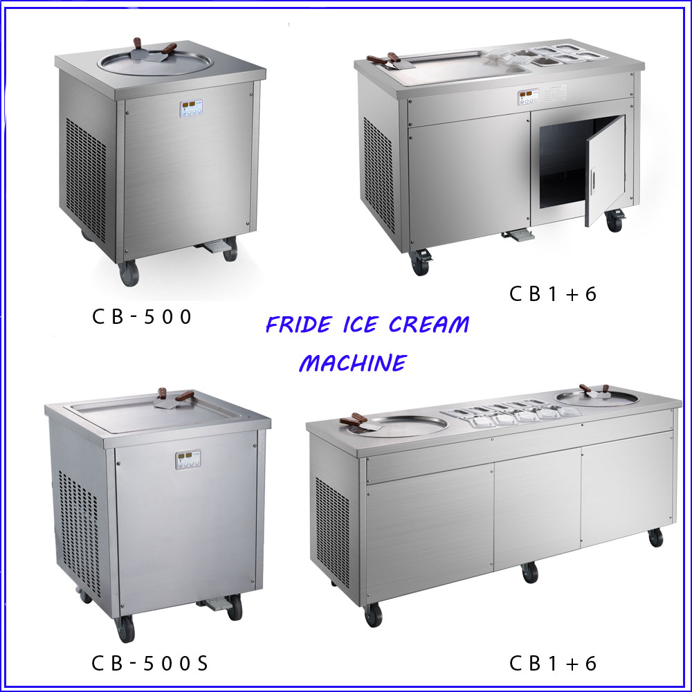 Gongly Factoru low price CB900 Thailand fried roll ice cream machine with CE