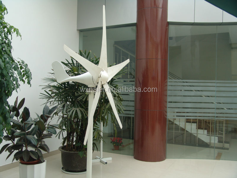 200w 5 blades small wind turbine/generator