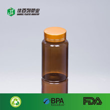 china factory wholesaler empty clear plastic pet 120ml capsule bottle