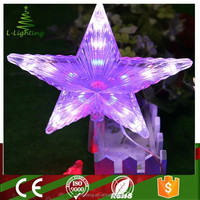 hot sale decorative led shooting star christmas lights for tree