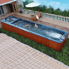 HS-SP10 10m big swim spa pool/hot swim spa/garden swimming spa