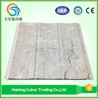 Best seller imitation marble pvc wall panel design