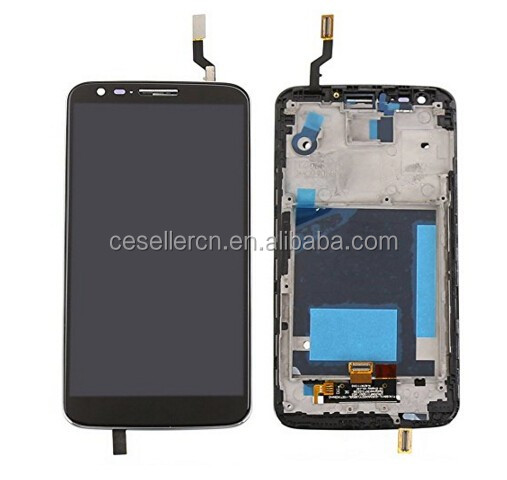 the best price For Motorola Moto G2 G 2 XT1063 XT1064 XT1068 a LCD Screen Display + Digitizer Touch