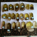 high quality natural citrine quartz crystal healing wands crystal points for sale