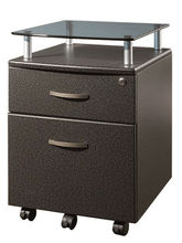 Office wooden furniture 2 drawer file cabinet