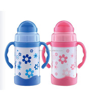 High quality and best price stainless steel baby bottle with handles(BC-66063)