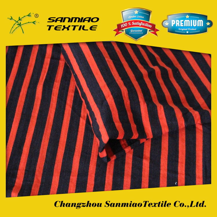 SANMIAO Brand high quality popular mercerized cotton jersey fabric SBWHCP-20A