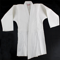 100% cotton white judo uniform crystal weave cotton judo gi