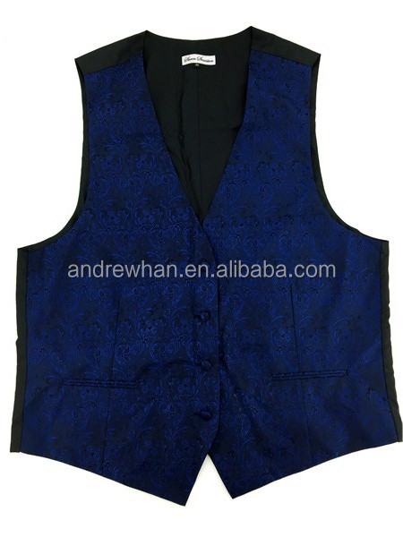 100% Polyester micro fiber woven waistcoat and vest