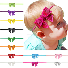 Cute Girls Shiny Paillette Bowknot <strong>Headband</strong> Free Shipping