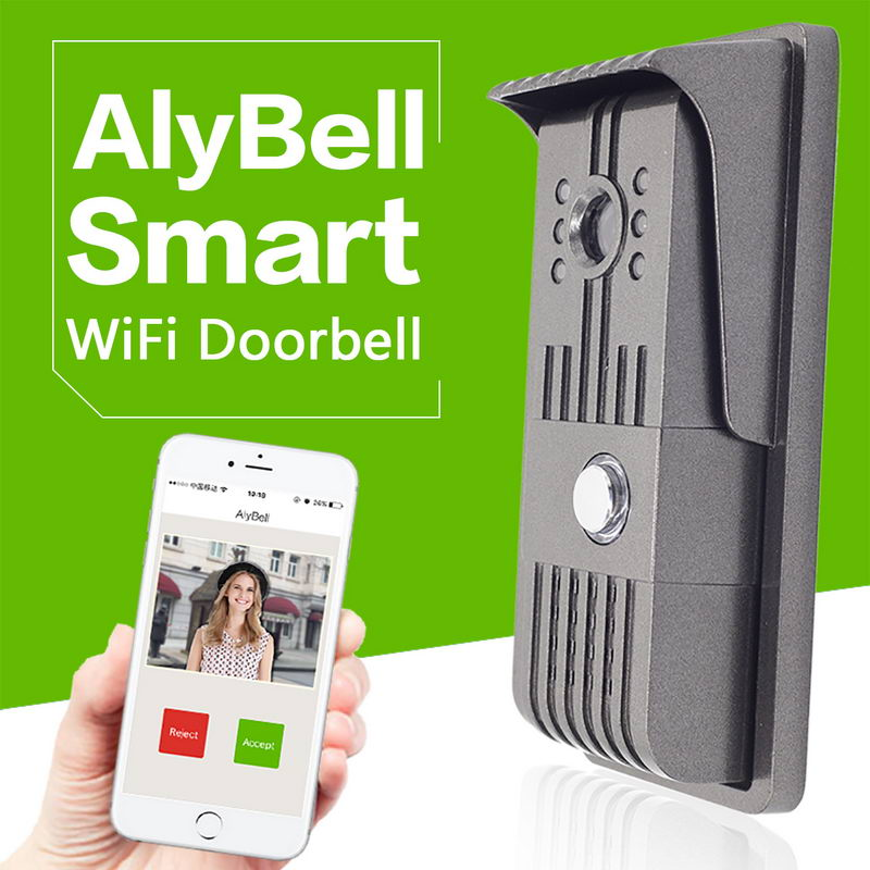 AlyBell TF card recording smartphone control OV industrial color sensor Camera security cameras video doorbell wifi