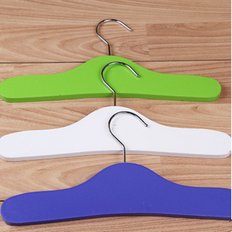 wooden small clothes hangers