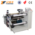 Automatic slitting and laminating machine with rewinding