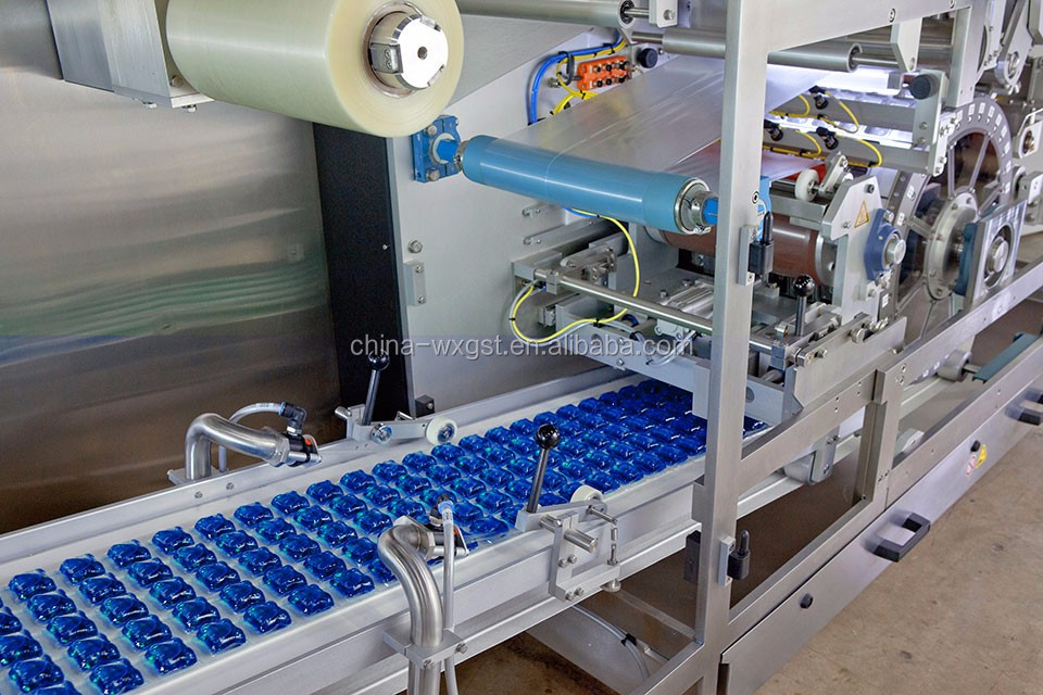 Automatic Dishwasher Powder Capsule Filling and Packing Machine