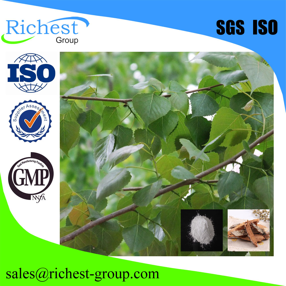 For cosmetic 98% salicin white willow bark extract
