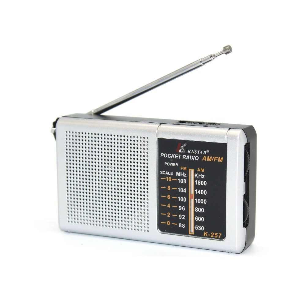 Two Band FM/AM portable Battery Transistor Radio am fm pocket radio
