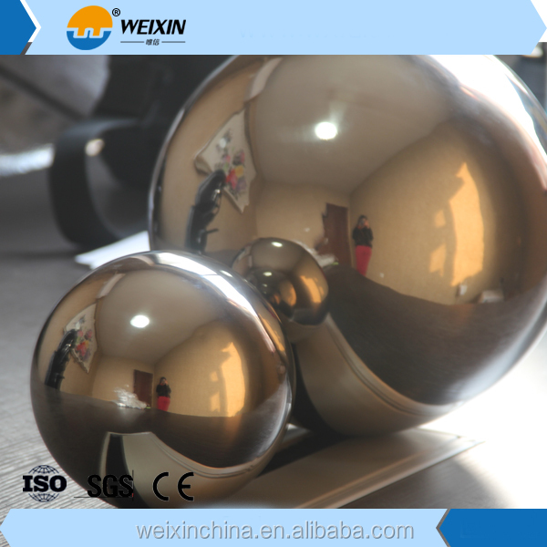 Large Decorative Stainless Steel Hollow Balls / Bearing Steel Ball