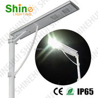 Hot sell warranty ip65 out integrated 30W all in one solar street light