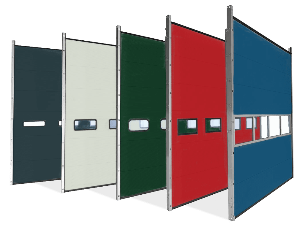 durable automatic pu foam industrial door