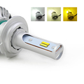 China Car Led Auto T5 H1 LED Headlight Bulbs 4000lm 6500k/4300k/3000k Car LED Headlight