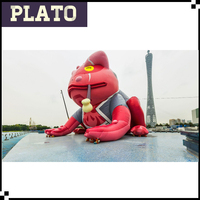 giant inflatable naruto frog, custom inflatable gamatatsu for theme park