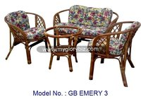 Rattan Sofa Set, Rattan Furniture, Sofa Set, Loveseat Sofa, Armchair, Indoor Furniture For Living Room