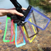 Clear Waterproof Pouch Dry Case Cover water proof phone bag pvc for IPHONE 4 4S 5 5S 6 6S PLUS