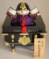 Authentic Japanese Child Armor: Igaboshi-Kabuto Child Helmet