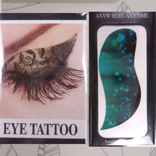 Beautiful Eye tattoos butterfly Temporary artificial eyeline tattoo eyes sticker for wholesale