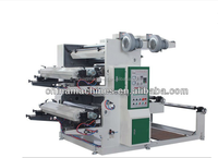 YT-2600 Chinese Manufacturers New plastic bag 2 color flexo printing machinery