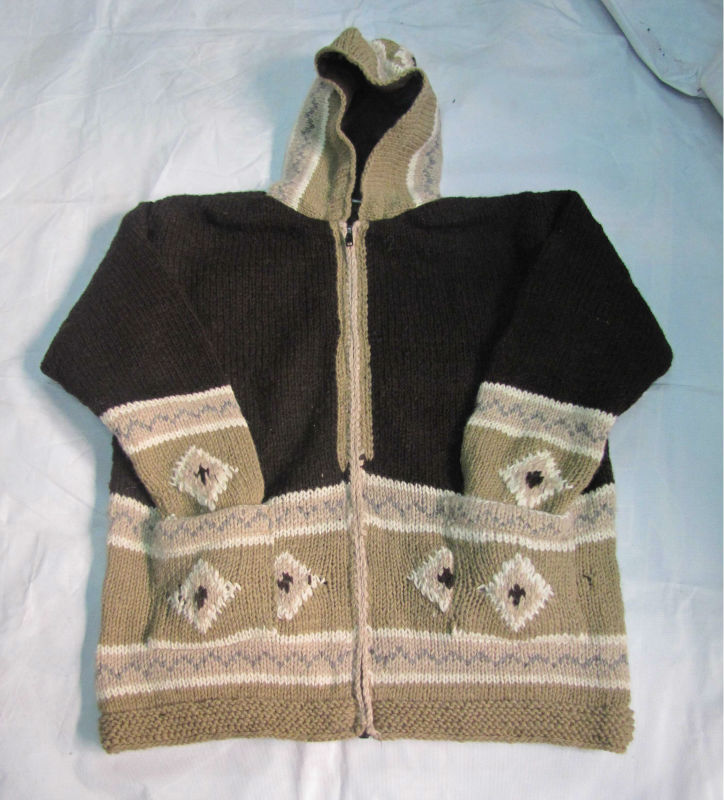 Hand Knitting Woolen Jacket