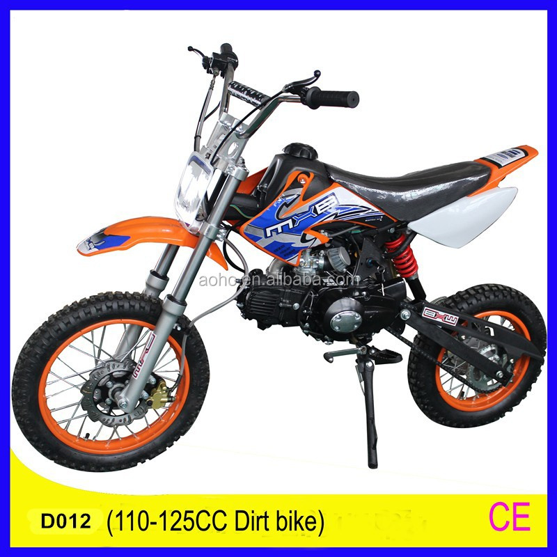 2015 Hot sale 125cc dirt bike 110/125CC single cylinder 4 storke with CE