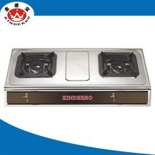 2 burner High quality gas combi cooker