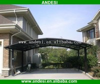 Outdoor used metal double carports for sale