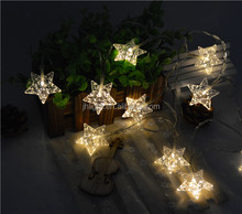 2016 new decorative led string fairy christmas lights for wedding party christmas decoration/short string christmas lights