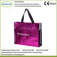 100gsm new material laminated non woven tote bag