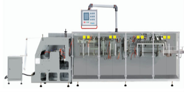 automatic Horizontal Doypack Machine for corn flakes packaging