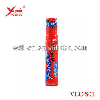 High quality sugar free fruit spray liquid candy VLC-S01