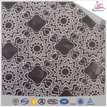 Environmental wholesale organza tissue sequence lace fabric