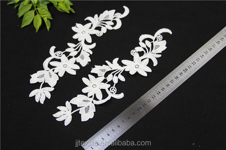 lace fabric polyester embroidery design collar