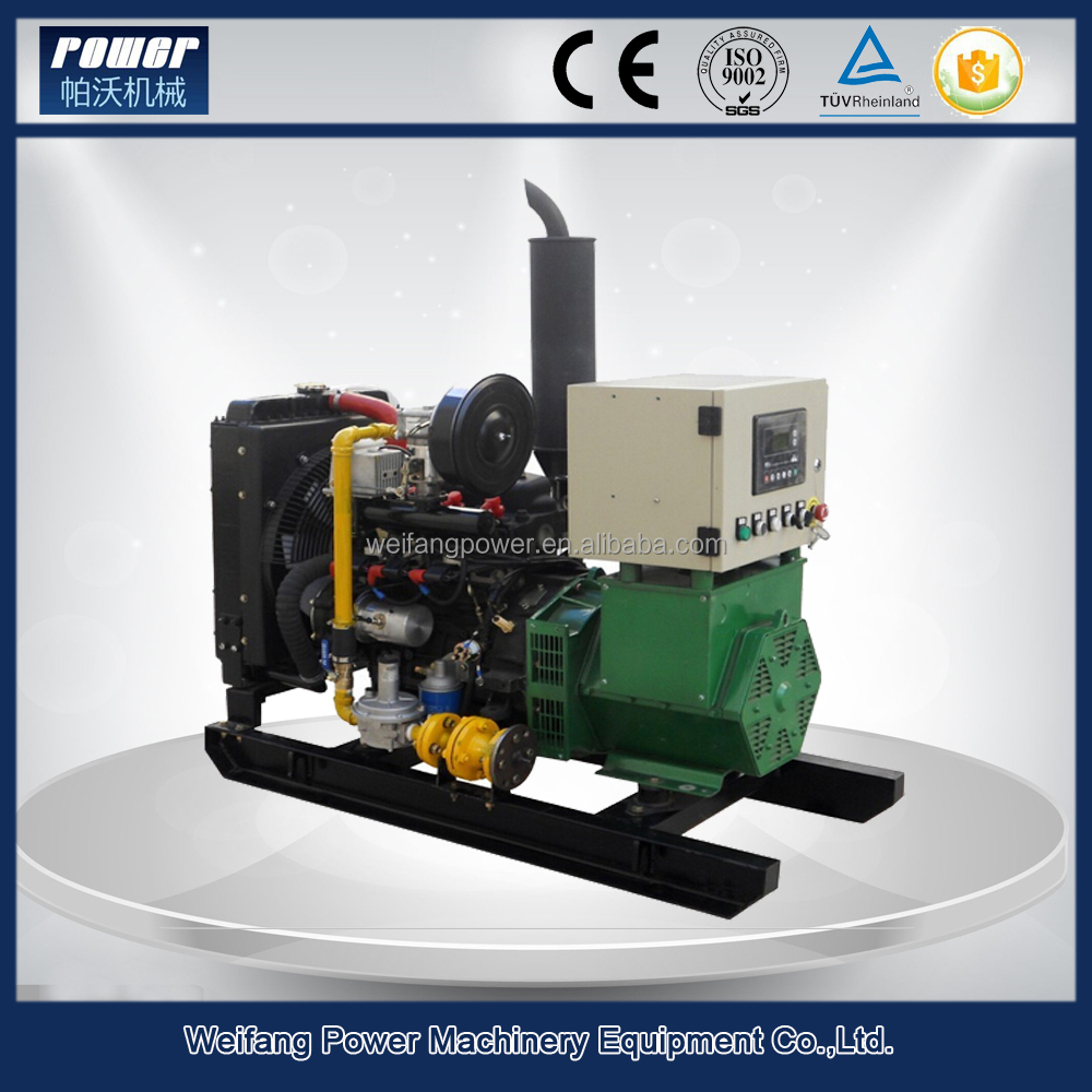 The widely used new energy gas generator 10kw