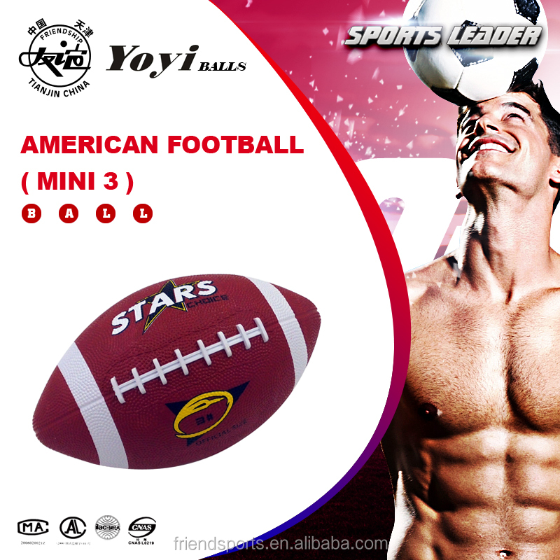 mini size 3 american football