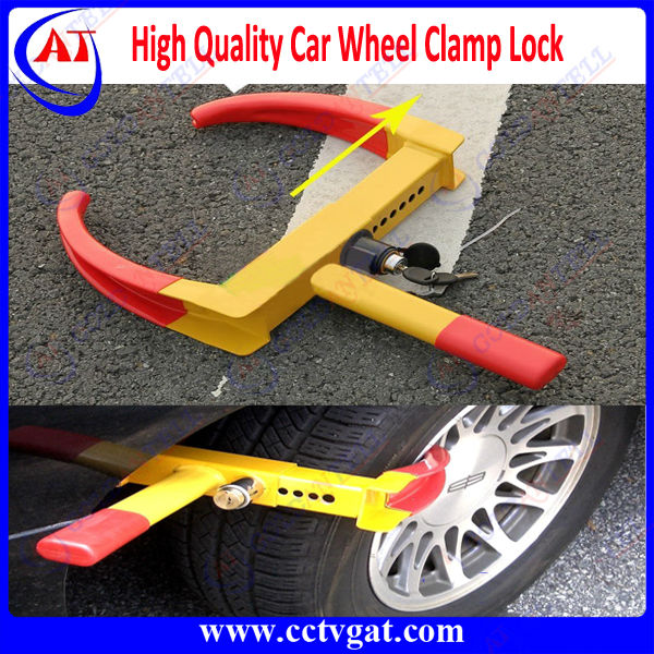 Adjustable universal alarm car steering wheel lock