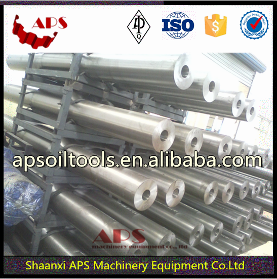 Oil drilling equipment API 7-1 Forged Drill Stabilizer/stabilize drill rod/Integral blade stabilizer forging Oil and Gas