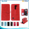 2016 New Products Cell Phone Flip Cover Wallet Leather Case For LG Ray X190 F670